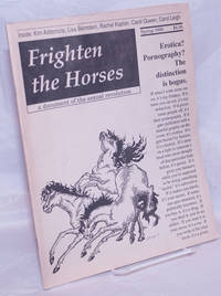 image of Frighten the Horses: a document of the sexual revolution #1, Spring, 1990