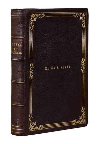 New York: Bartlett & Welford, 1844. 12mo. xi, , -216pp. Half-title. Contemporary brown morocco, cove...