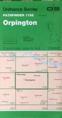 Orpington Pathfinder map sheet 1192