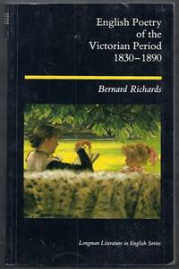 English Poetry of the Victorian Period 1830 – 1890