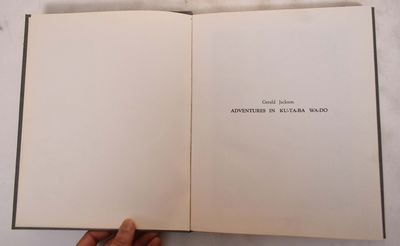 New York: Gerald Jackson, 1973. 22/50 copies printed and signed by the artist. Hardcover. VG+. Grwey...