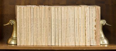 1946. Scarce Complete British Edition of the Nuremburg Trials . . The Trial of German Major War Crim...