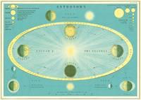 "Cavallini Decorative Paper - Astronomy 20""x28"" Sheet"