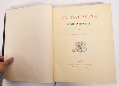 Paris: Boussod, Valadon, 1896. Leather bound. VG (leather has light wear, bookplate inside front cov...
