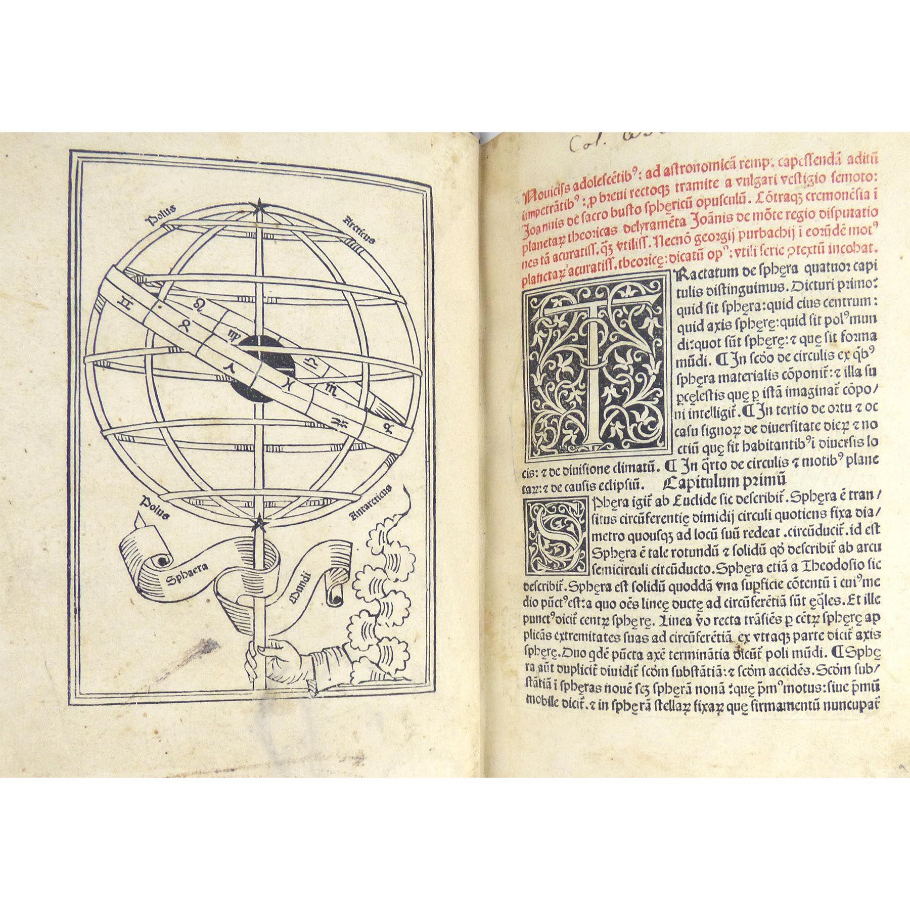 Sphaera Mundi compendium feliceter inchoat. (photo 1)