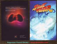 Official Street Fighter Anniversary Edition Controller / Instruction Manual