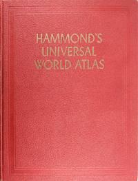 image of Hammond's Universal World Atlas with Post-World War II Supplement