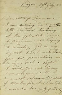A group of 12 autograph letters signed, pertaining among other things to her American tour of 1850-1852
