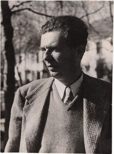 N.p.: N.p., 1940. Vintage borderless black and white photograph of British author, essayist, philoso...