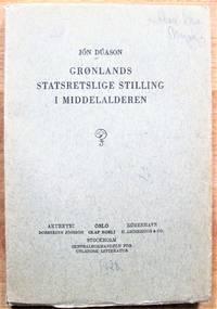 image of Gronlands Statsretslige Stilling I Middelalderen