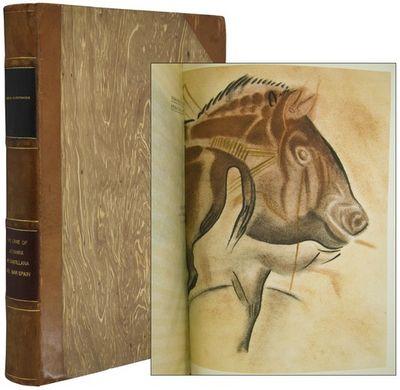 Madrid: Tipografia de Archivos. 1935. An elaborate volume on the prehistoric cave paintings of Altam...