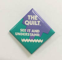 image of The Quilt / See it and understand [pinback button]