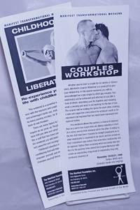 image of Manifest Transformation Weekend [2 leaflets] Couples workshop_Childhood liberation