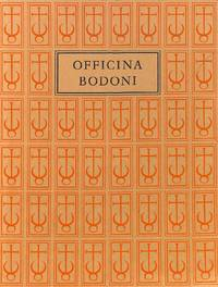 The Officina Bodoni. Montagnola - Verona. Books printed by Giovanni  Mardersteig on the hand press, 1923-1977.