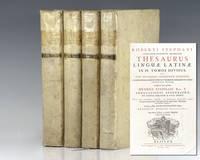 Lexicographorum Principis Thesaurus Linguae Latinae in IV. Tomos Divisus.