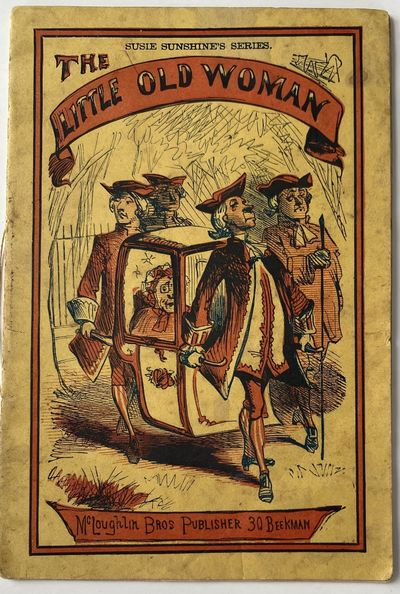 : McLoughlin Bros. Publisher, 30 Beekman , 1869. Wraps. Very good. 12mo; ; yellow pictorial wrapper ...