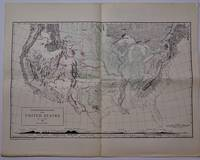 image of A Physiographic Diagram of the United States, (Small Scale Edition).  Map with Accompanying Text