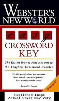 image of Webster's New World Easy Crossword Key