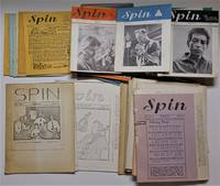 image of RARE Complete Publication ) SPIN; The Folksong Magazine , Vol. 1, No.1, October 1961 - Vol. 9, No. 4, 1973 , 61 Complete Magazines