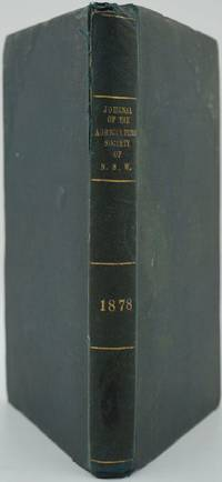 image of The Journal of the Agricultural Society of New South Wales