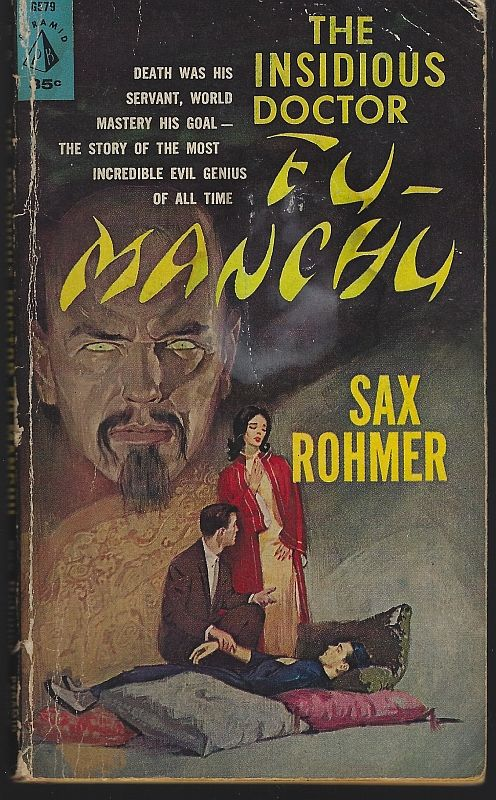 INSIDIOUS DR. FU MANCHU, Rohmer, Sax