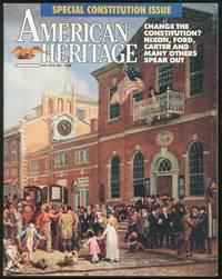 American Heritage May/ June 1987 volume: 38 / Number 4