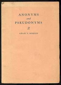 Anonyms and Pseudonyms
