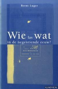 Wie las wat in de negentiende eeuw?