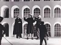 Boccaccio '70 (Original photograph of Federico Fellini and Anita Ekberg on the set of the 1962 film)