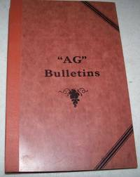 Collection of 11 AG Bulletins dealing with Crops in Missouri (University of Missouri College of Agriculture, Agricultural Extension Service Circulars)
