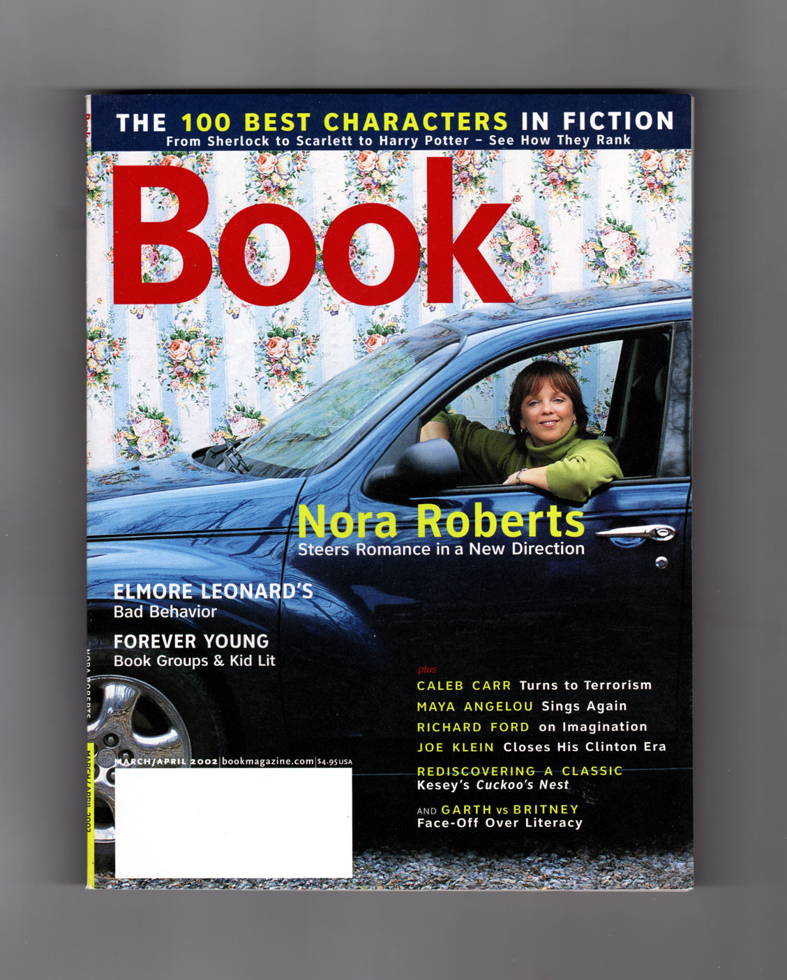 Best Book Cover Editor : Book magazine march april nora roberts cover