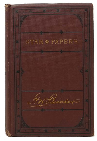New York: J. B. Ford & Co, 1873. 1st edition thus (revised edition with additional matter). Brick re...