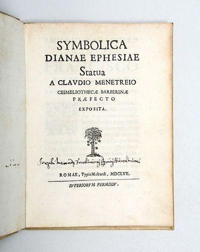 Symbolica Dianae Ephesiae statua.