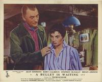 image of A Bullet is Waiting (Collection of 6 British front-of-house cards from the 1954 film)