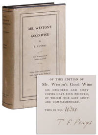 Mr. Weston's Good Wine [Limited Edition, Signed]