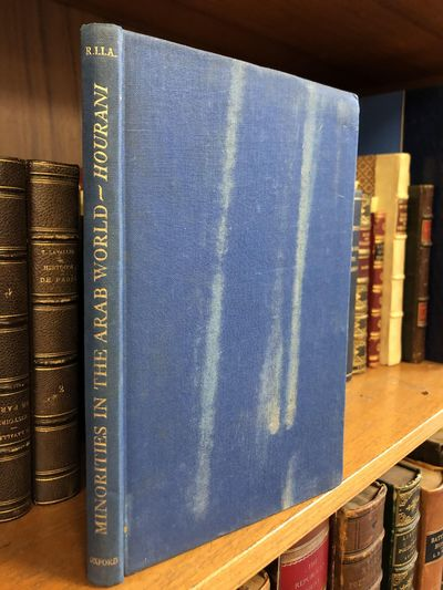 Oxford: Oxford University Press, 1947. First Edition. Hardcover. Octavo, 140 pages; G; full binding ...