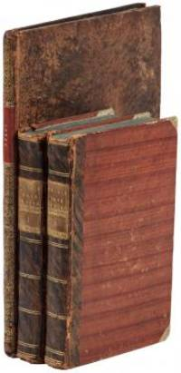 2 volumes with Atlas. +xxiv+385 pages with xxii-xxiv lists books of voyages available from the publi...