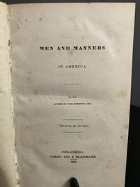 image of Men and Manners in America