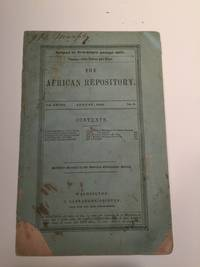 The African Repository August, 1852 Vol. XXVIII No. 8