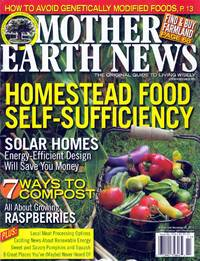 Mother Earth News Magazine October/November 2012