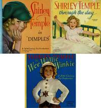 "image of LOT OF 3 AUTHORIZED EDITIONS: #1- SHIRLEY TEMPLE IN ""WEE WILLIE WINKIE""  (NO, 1769) ((+) ) #2- SHIRLEY TEMPLE IN "" DIMPLES "" (NO 1760) ((+) ) #3-  SHIRLEY TEMPLE ""THROUGH THE DAY"" (NO. 1716)"