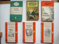 image of Plain murder, with, Death to the French, with, The gun, with, The African  queen, with, The general and The earthly paradise (6 paperbacks) Penguin  nos. 842, 229, 1112, 1117 & 1816 and Pan G639