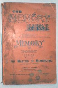 image of The Mastery of Memorizing (Memory and Thought Series) Nov.-Dec., 1890