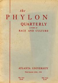 image of The Phylon Quarterly: Volume XIX, Number 3; A Review of Race and Culture