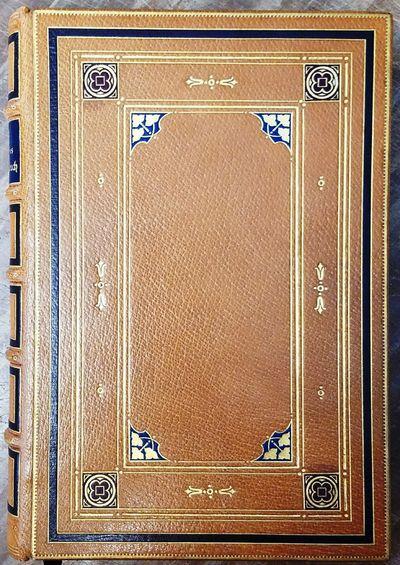 Halle / Saale: Wilhelm Knapp, 1909. Hardbound. VG++. Full light brown Morrocan leather, extensively ...