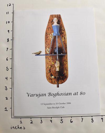 Boston: Saint Botolph Club, 2006. Paperback. VG-. Creasing, general shelf wear, minor soiling to cov...