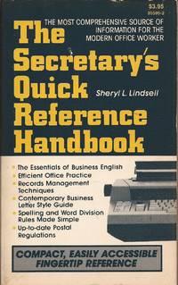 image of The Secretary's Quick Reference Handbook