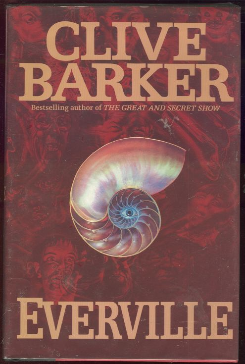 EVERVILLE The Second Book of the Art, Barker, Clive