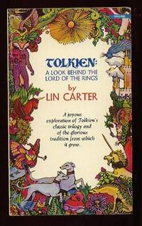 """Tolkien: A Look Behind the """"Lord of the Rings"""" by Carter, Lin  ( re:  J. R. R. Tolkien ) - 1974"""