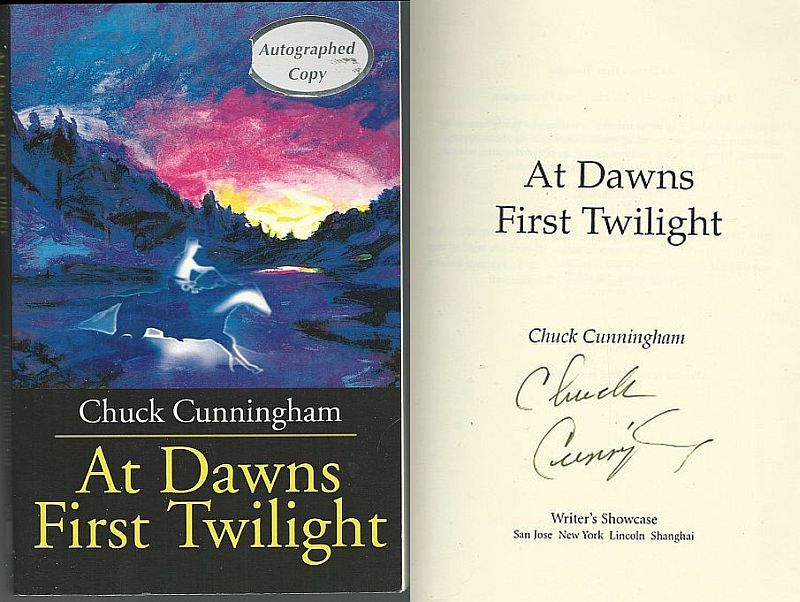AT DAWNS FIRST TWILIGHT, Cunningham, Chuck